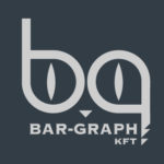 Bar-graph footer logo
